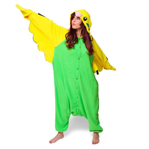 Попугай зеленый 4