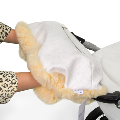 Муфта Esspero Julia для рук на коляску (Натуральный мех)