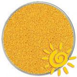 Кварцевый песок (для рисования), желтый 1