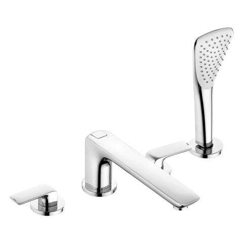 KLUDI AMEO Однорычажный смеситель для ванны и душа на 4 остверстия, рычаги