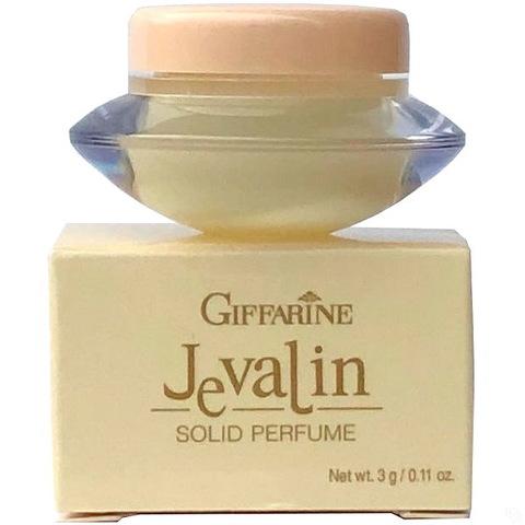 Твердые сухие духи с природными феромонами Jevalin от бренда Giffarine, 3 г