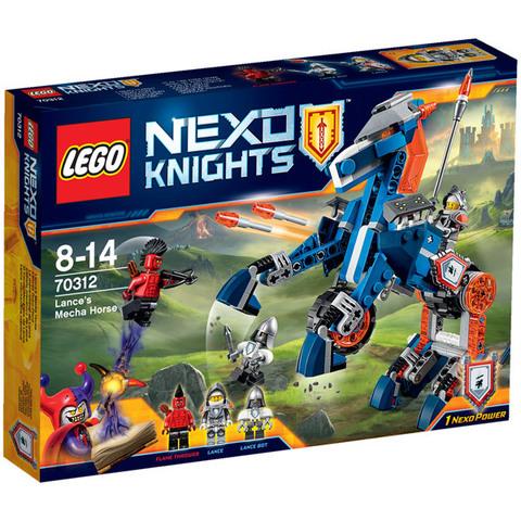 LEGO Nexo Knights: Ланс и его механический конь 70312