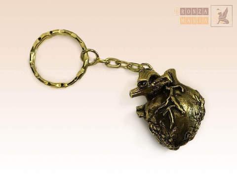 брелок - шкатулка Сердце с кубиком решением
