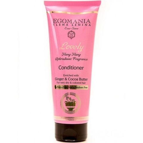 Кондиционер с женьшенем и маслом какао для нормальных и сухих волос, Lovely Egomania,250 мл.