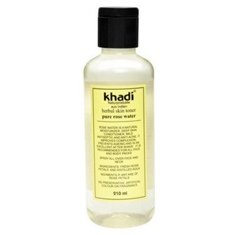 Розовая вода Khadi Naturprodukte, 210 мл