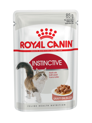 Royal Canin Instinctive (в соусе) 85 г * 12 шт.