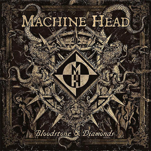 Machine Head / Bloodstone & Diamonds (RU)(CD)