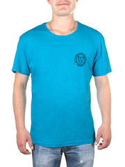 17609 футболка мужская, голубая
