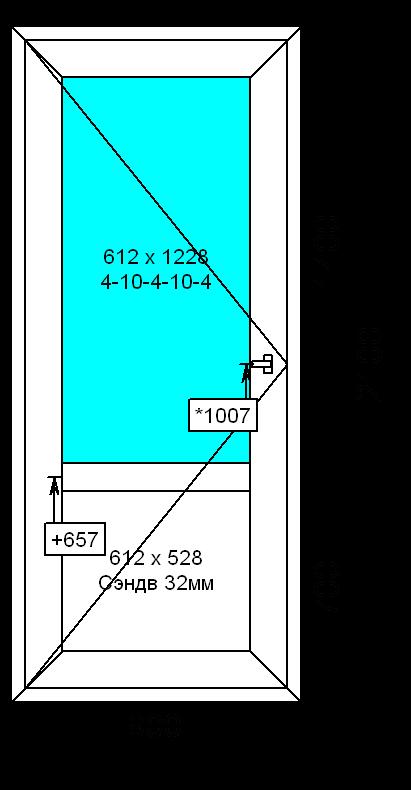 дверь входная №2(многозапорая)