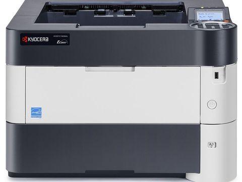 Kyocera ECOSYS P4040dn монохромный лазерный принтер: формат А3, скорость до 22 стр/мин, сеть.