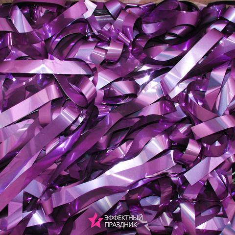 Фиолетовая металлизированная бумага