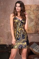 Сорочка женская шелковая MIA-Amore  ARMANI GOLD  АРМАНИ ГОЛД 3490