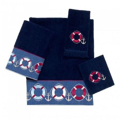 Полотенце детское 69х127 Avanti Life Preserves синее