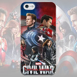 Чехол для iPhone 7+/7/6s+/6s/6+/6/5/5s/5с/4/4s CIVIL WAR poster