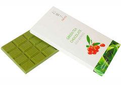 Шоколад Okasi с чаем матча и ягодами годжи, 90г