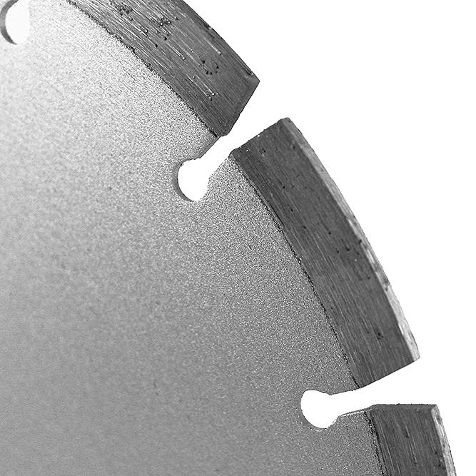 Алмазный диск по бетону 230х2,4х22,23 мм MESSER B/L