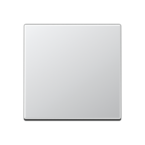 Выключатель одноклавишный перекрёстного типа. 10 A / 250 B ~. Цвет Алюминий. JUNG A. 507U+A590AL