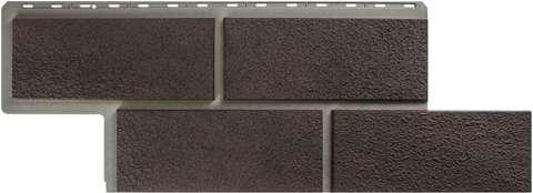 Фасадная панель Альта Профиль Камень неаполитанский Коричневый 1250х450 мм