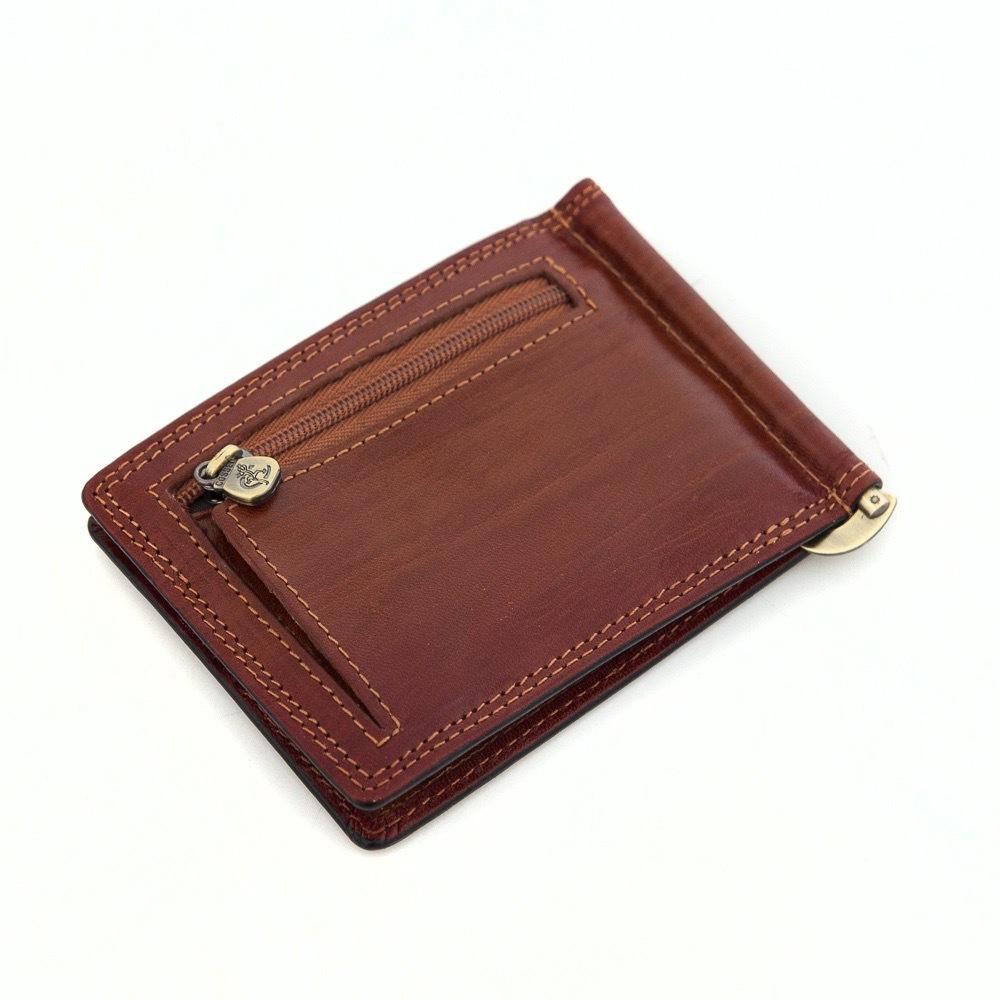 Кожаный зажим для денег Cosset 32-167-1782