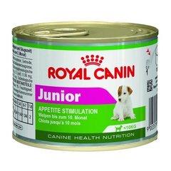 Royal Canin Junior мусс влажный корм для щенков до 10 месяцев и весом менее 10 кг
