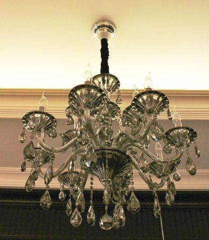 murano chandelier  SYLCOM 11-08  by Arlecchino Arts ( HK)