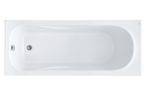 Акриловая ванна Santek Тенерифе 150х70 прямоугольная белая 1WH302213