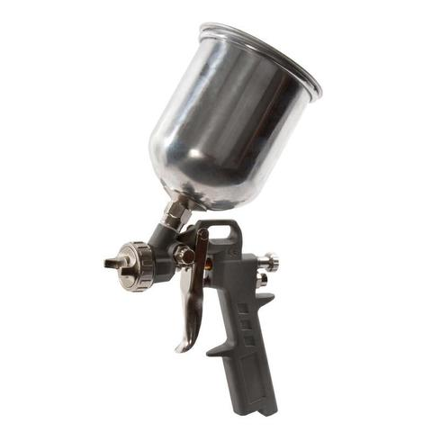 Краскопульт пневматический QUATTRO ELEMENTI с верхним бачком 600 мл,  сопло 1,5 мм, разъем EURO