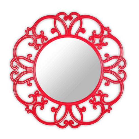 Зеркало TIFFANY (red)