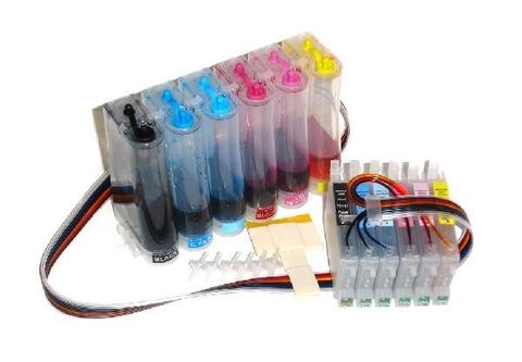 СНПЧ CISS Epson T50, T59, R270, R290, R295, R390, RX590, RX610. (СНПЧ T0821-T0826)