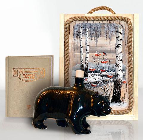 """Подарочный набор """"Сибирь. Медведь"""""""