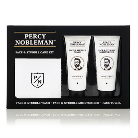 Percy Nobleman Набор для ухода за бородой Face & Stubble Kit