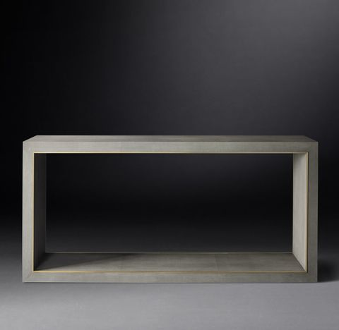 Cela Shagreen Console Table