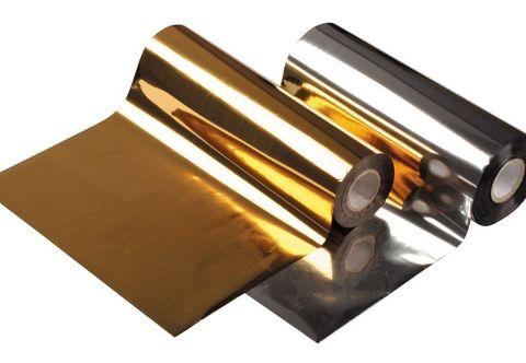 Фольга для горячего тиснения BS 92 серебро, рулон 0,175х122м