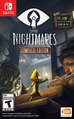 Nintendo Switch Little Nightmares. Complete Edition (русские субтитры)