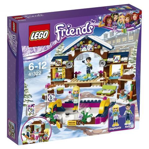 LEGO Friends: Горнолыжный курорт: Каток 41322 — Snow Resort Ice Rink — Лего Френдз Друзья Подружки