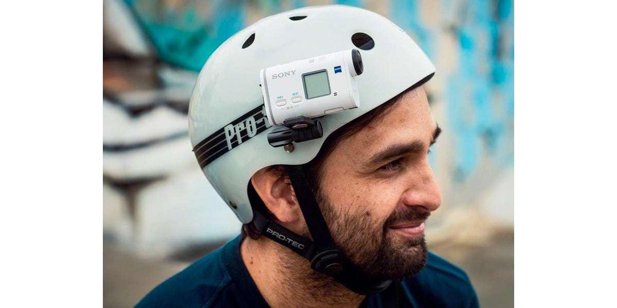 Крепление боковое Sony VCT-HSM1 на шлеме