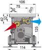 Внутрипольный конвектор COIL-KT0 2500