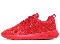 Кроссовки Женские Nike Roshe Run Red DIAMONDBACK