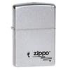 Зажигалка ZIPPO Footprints Satin Chrome латунь/никель-хром (205 Footprints)