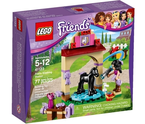 LEGO Friends: Салон для жеребят 41123 — Foal's Washing Station — Лего Френдз Подружки