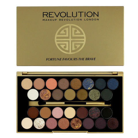 Палетка теней для век Makeup Revolution Fortune Favours The Brave