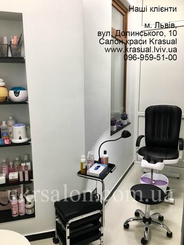 Фото 6 интерьера салона красоты Krasual
