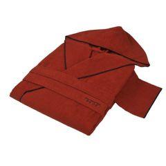 Халат махровый Hamam Meyzer Contrast красный