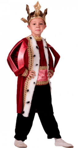 Костюм Король красный