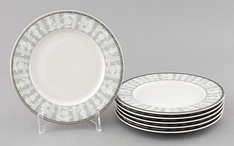 Набор тарелок десертнных 17см 6 штук Сабина Leander