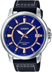 Мужские японские наручные часы Casio MTP-E130L-2A1VDF