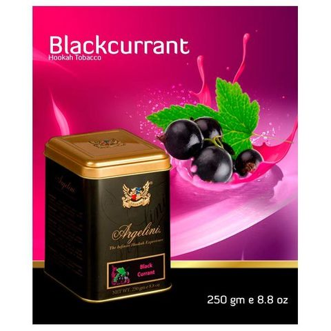 Табак для кальяна Argelini Blackcurrent 250 гр.