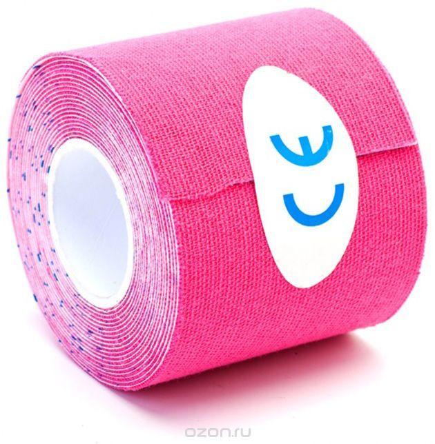 Розовый цвет кинезио лента
