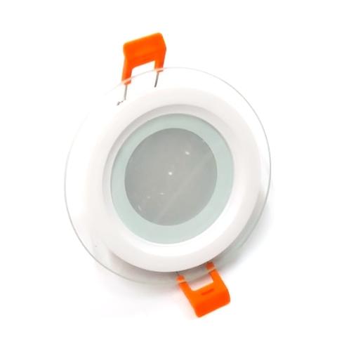 Светодиодный Led светильник встраиваемый Feron AL 2110 Белый (круглый) 6W 5000K
