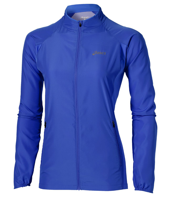 Женская ветровка Asics Woven Jacket (110426 8091) синяя фото